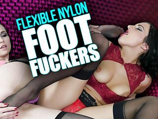 Flexible Nylon Foot Fuckers