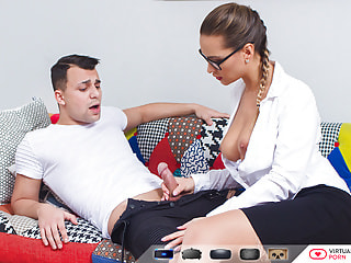 Hot Teacher Has Hardcore POV Sex in Lace Panties