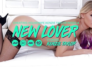 Cheating Housewife Kenzie Taylor Needs a New Lover