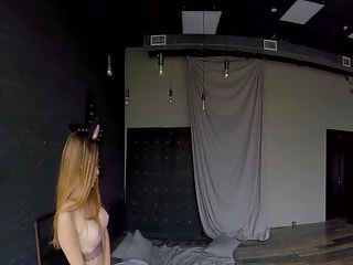 Naughty Little Mouse 360º- Solo Model Stripping