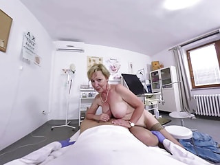 Hairy Granny gets fucked by her doctor