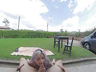 Fun In The Sun - Busty MILF Latina