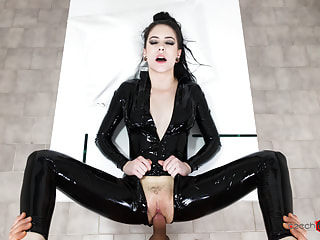 Czech VR Fetish 168 - Rough Latex Loving