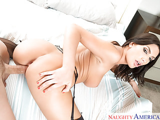 August Ames & Ryan Driller in Naughty America