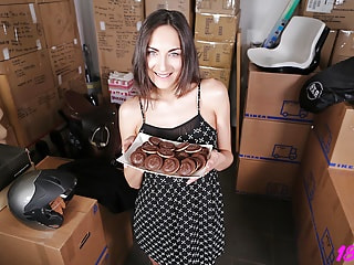 Beautiful Neighbor Blowing and Fucking You in POV
