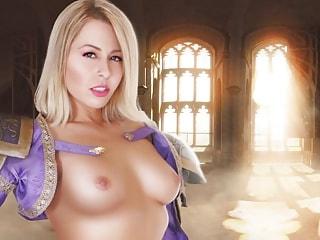 Jaina Proudmoore Hardcore Parody in VR Videogame