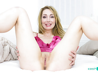Delicious lass lets you destroy her holy temple with your cock rocket
