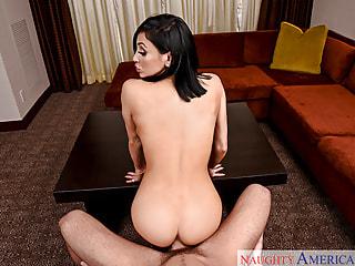 Big Fake Tits Make This POV Fucking Scene Sexy
