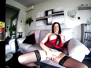 Fake Tits and a Tight Cunt on this German MILF