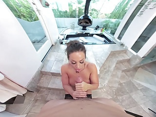Abigail Mac Gives the Best POV Blowjob in Lingerie