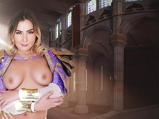 Heroic Video Game Mage Babe Loves POV Hardcore Sex