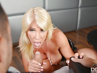 Step Mom Serves a Blowjob and Wild Sex for You