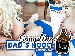 Sampling Dad's Hooch