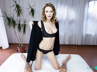 Sexy blonde wants you deep inside of her Garden of Eden