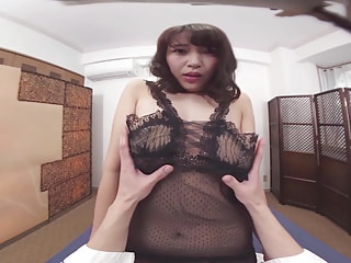 Vibrate Her Japanese Pussy and Make this Cutie Cum